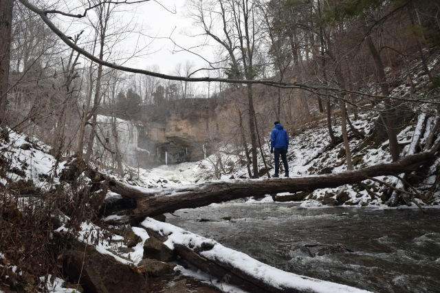 Winter Hike at Webster's Falls in Hamilton - TheCraftyMann.Blogspot.com