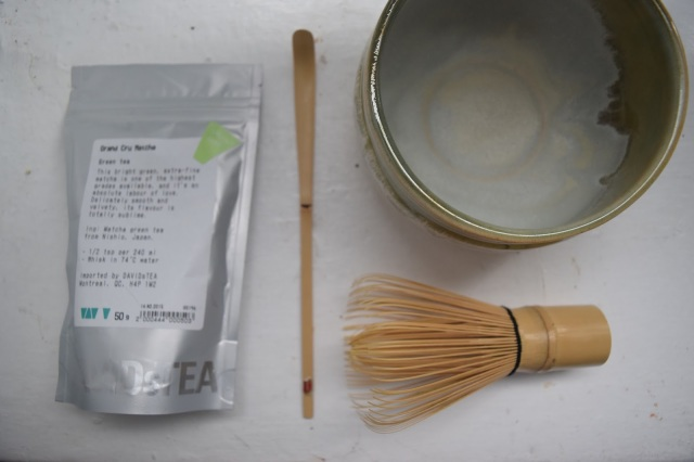 DIY Matcha Green Tea Lattes - TheCraftyMann.Blogspot.com
