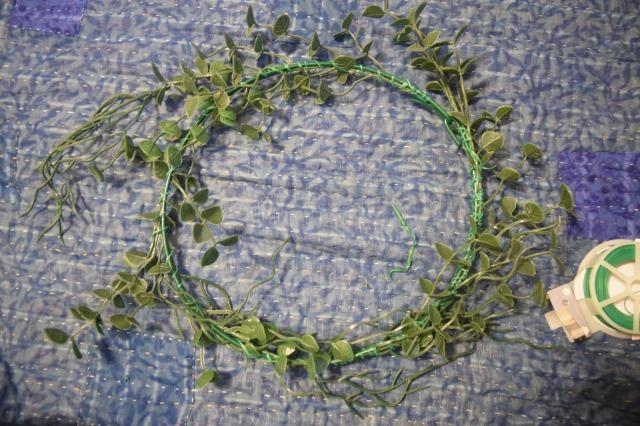 Easy Spring Wreath DIY From the Dollar Store - TheCraftyMann.Blogspot.ca