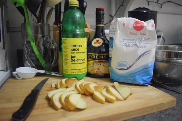 Easy & Fast Brandy Pear Tart - TheCraftyMann.Blogspot.ca
