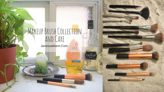 Makeup Brush Collection and Care - JanessaMann.Com