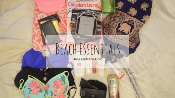 Beach Essentials - JanessaMann.Com